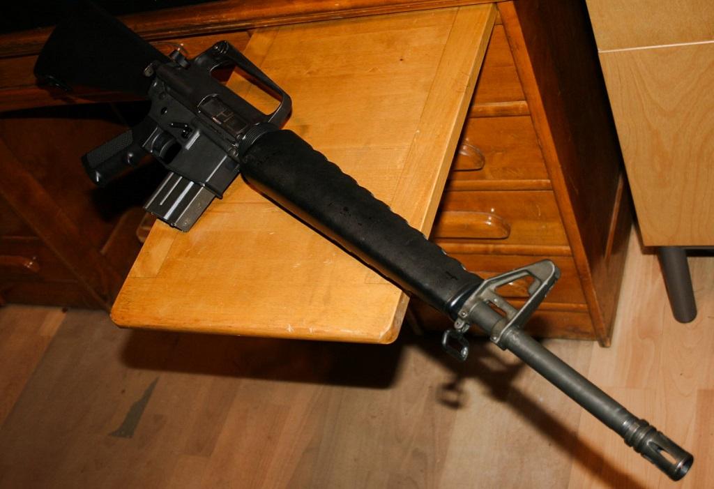 Retro build in progress: M16A1 HBAR